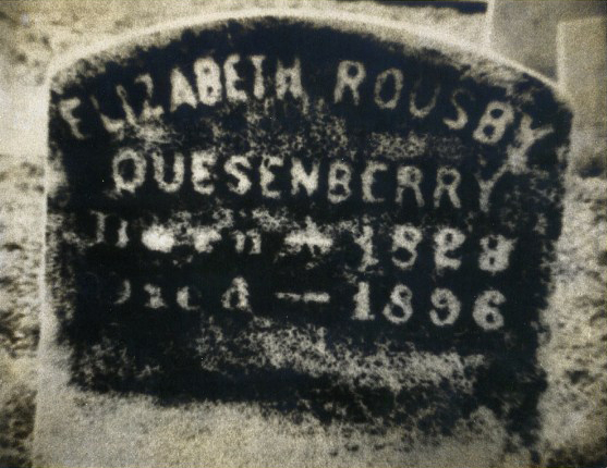 Mrs. Quesenberry's grave 2