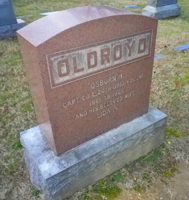 Oldroyd's grave