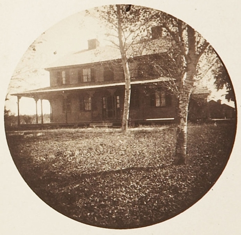 The Surratt Tavern circa 1895