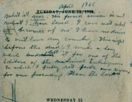 Booth's Handwriting Page 2