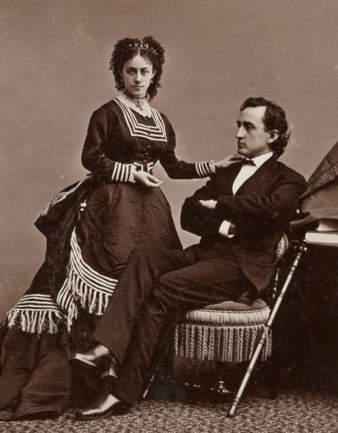 Edwin and Mary (McVicker) Booth