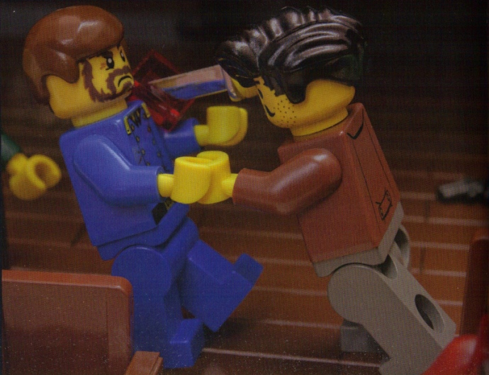 Lego Fighting Rathbone