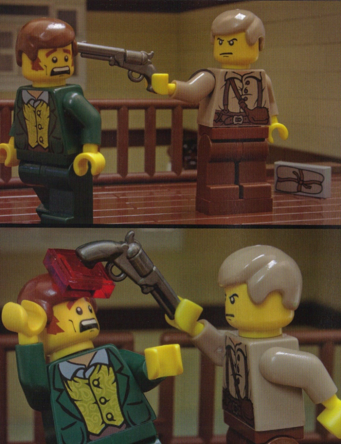 Lego Powell vs Frederick