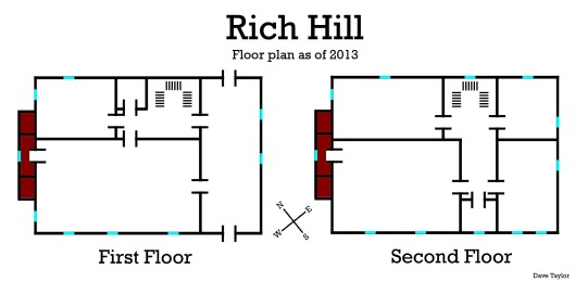 Rich Hill Floorplan 2013