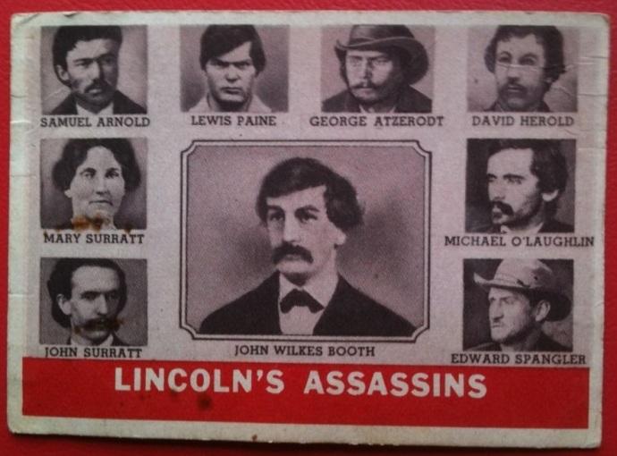 Bettman Civil War Booth Gang Card