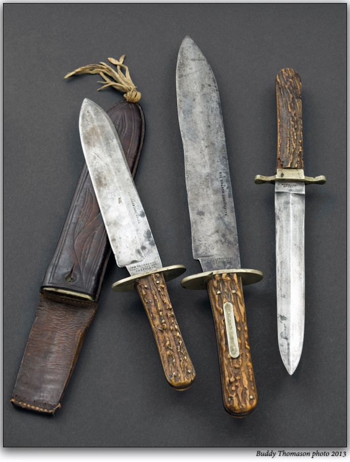 Bowie Knives Exhibit Assassination knves