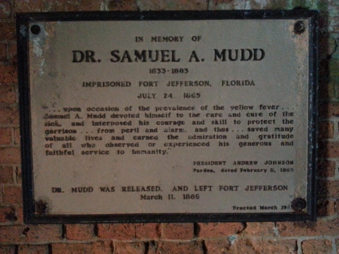 I. Mudd Dungeon Cell Sign
