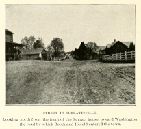 Street in Surrattsville Oldroyd 1901