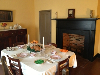 Surratt family dining room