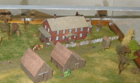 Surratt house diorama