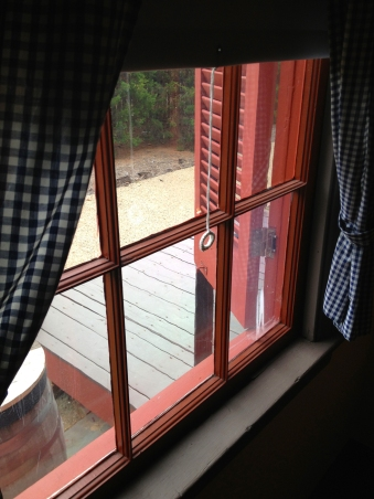 Surratt House window