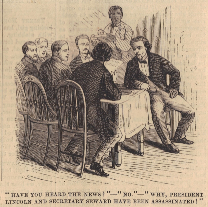 Surratt Learning of Lincoln's Assassination