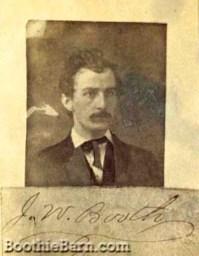 John Wilkes Booth NonGutman 6