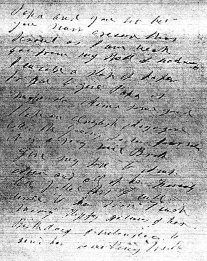 Rosalie letter 1881 2