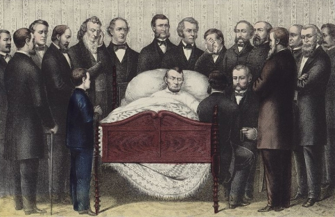 Death of Abraham Lincoln Kellogg