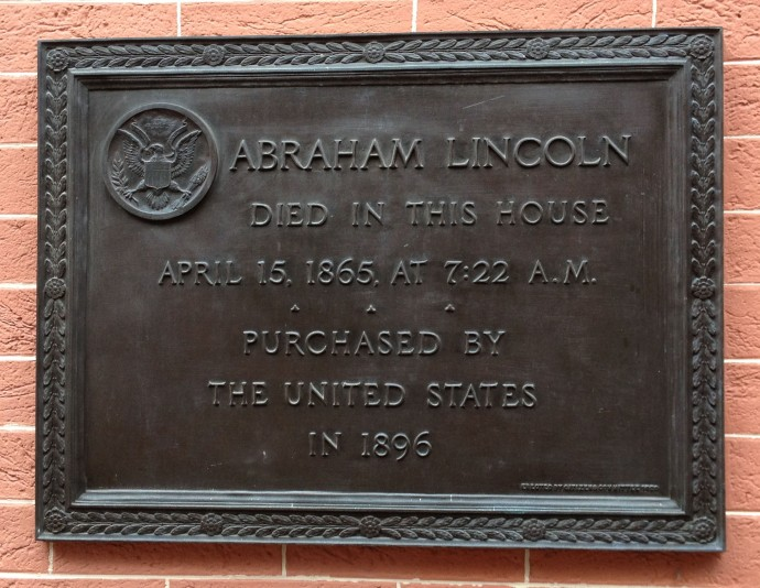 Petersen House Plaque
