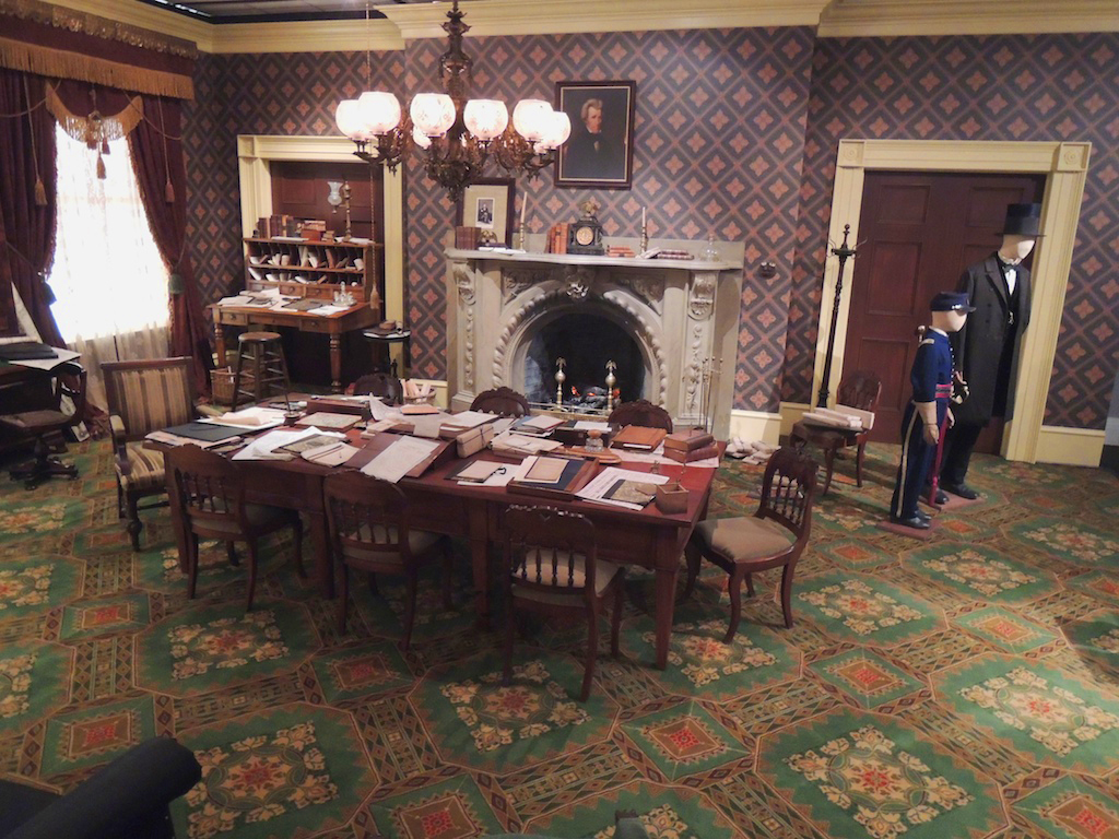 Reagan Library S Former Lincoln Exhibit Boothiebarn