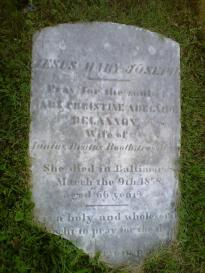 Adelaide Booth's Grave 1