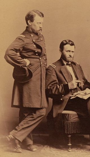 Adam Badeau and General Grant
