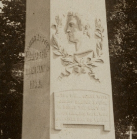 Booth monument 1893 Folger