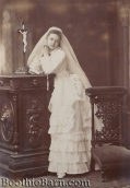 Dollie Clarke 1st Communion NYPL