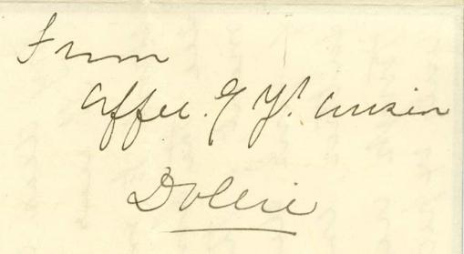 Dollie Clarke signature