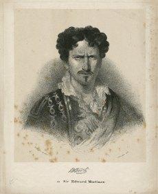 JBB as Sir Edward Mortimer Folger