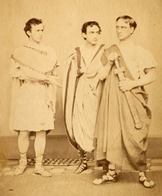 John Wilkes, Edwin, and Junius Brutus Booth Jr