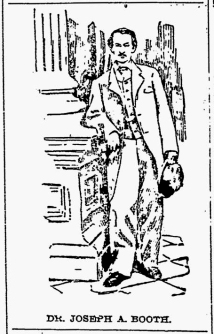 Joseph Booth illustration Baltimore American 7-12-1896