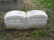 Junius and Mary Ann Footstones
