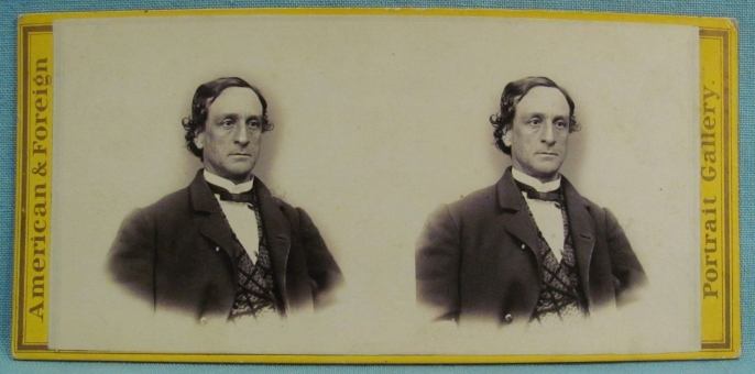 Junius Brutus Booth Jr Stereoview