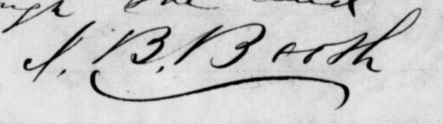 Junius' signature 2