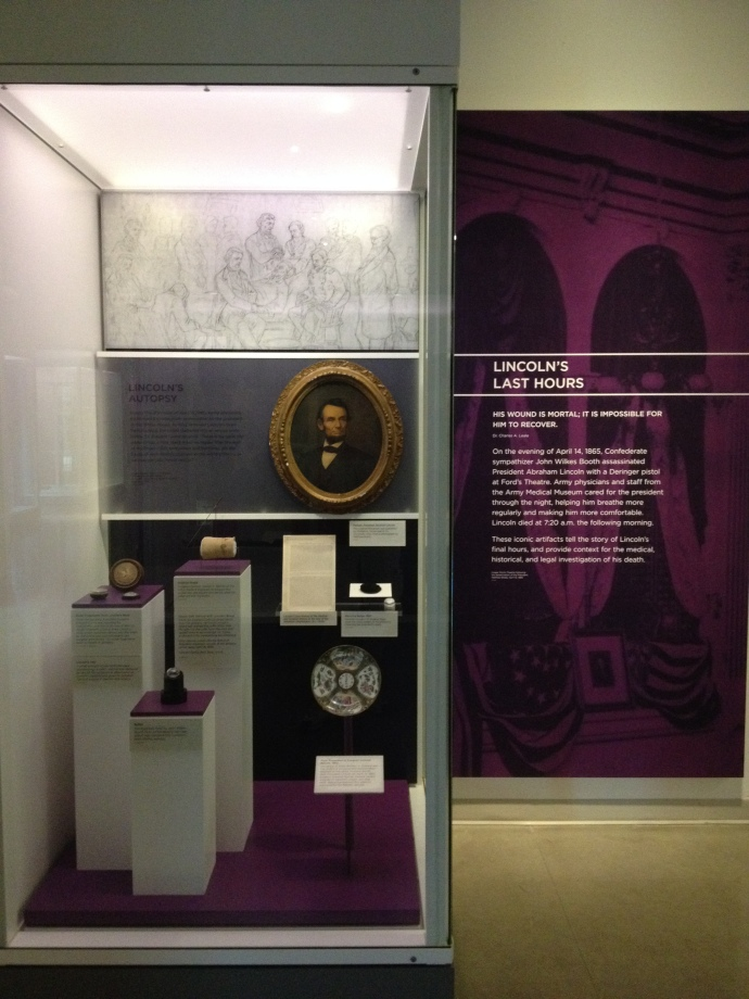 NMHM Lincoln's Last Hours exhibit