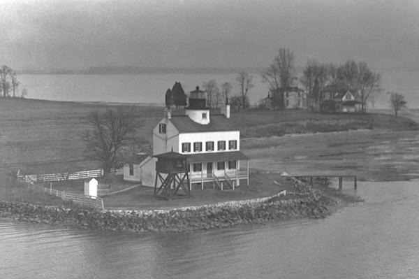 Blackistone lighthouse 1928 Coast Guard