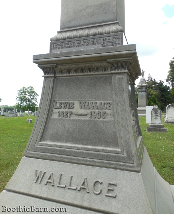 Lew Wallace Grave 2