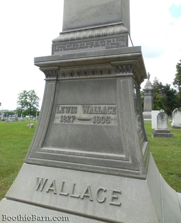 Lew Wallace Grave 2