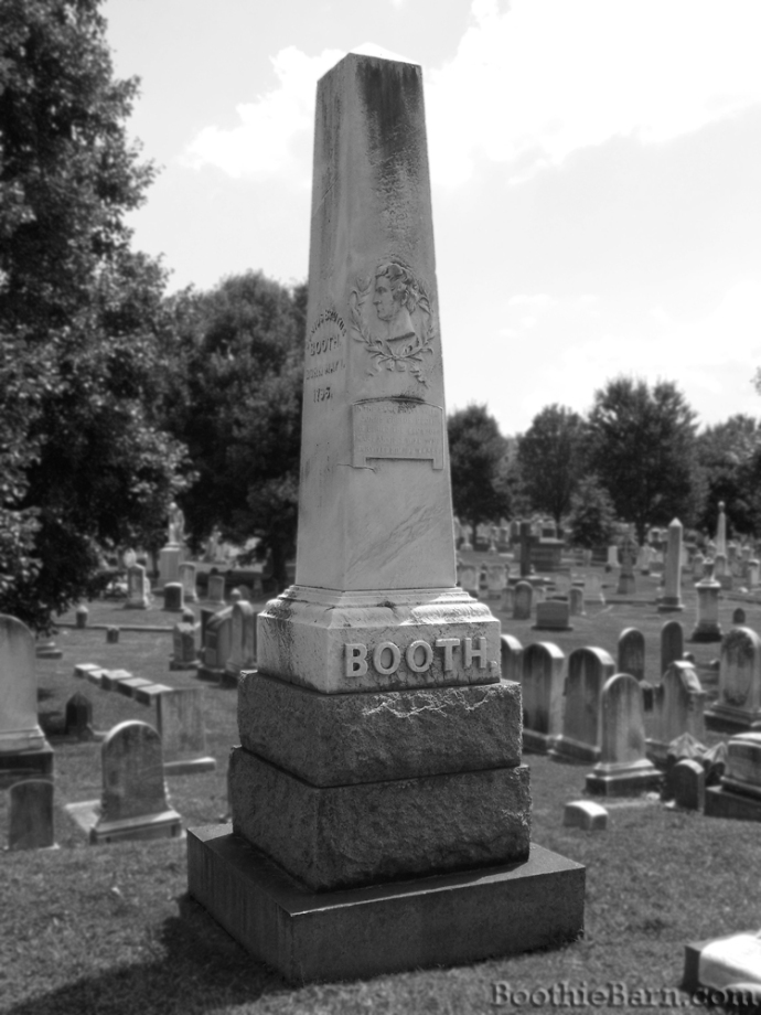 Booth B&W Grave