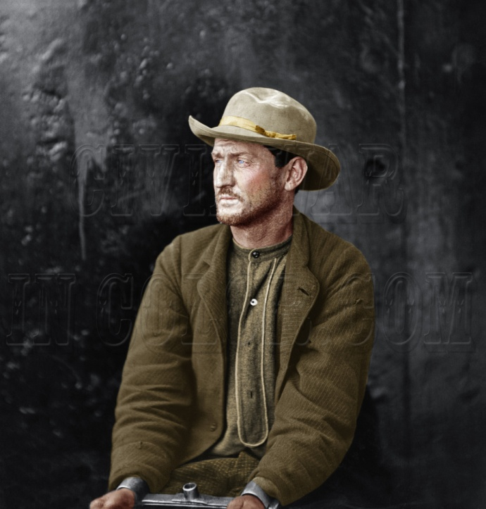 Edman Spangler Colorized by David Richardson