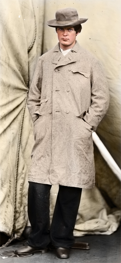 Lewis Powell 1 Colorized by Mads Madsen