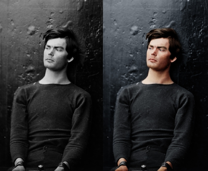 Lewis Powell Before and After by Mads Madsen