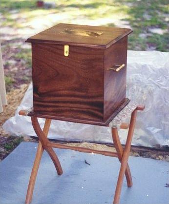 Powell's casket 1994 Ownsbey