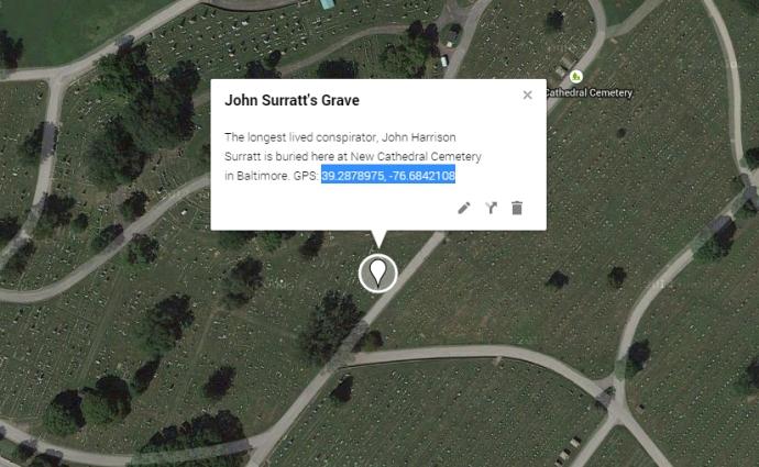Grave coordinates example