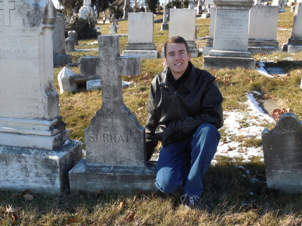 Me Surratt Grave Jan 2015