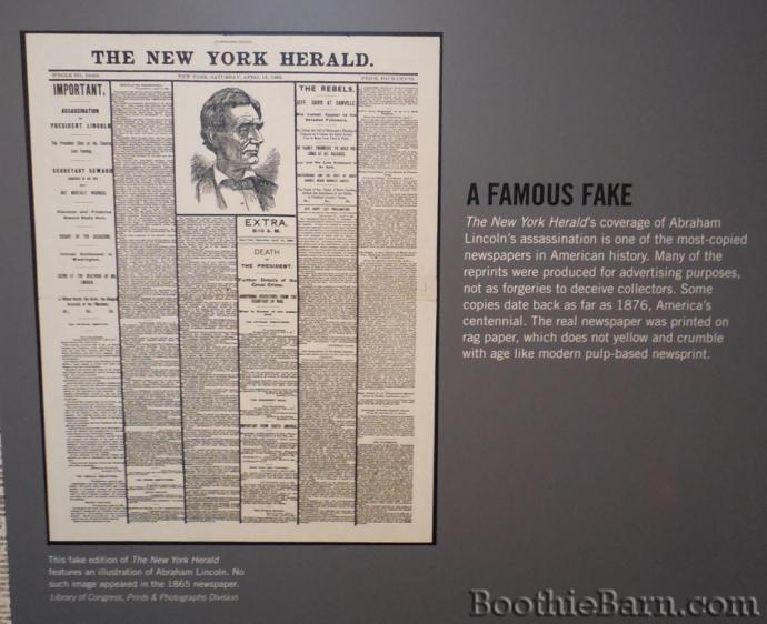 Fake NYH Newseum