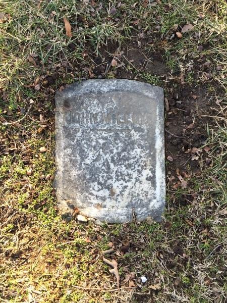 Grave of John M. Lloyd in Mt. Olivet Cemetery.