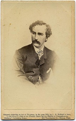 Booth drawing CDV 1865