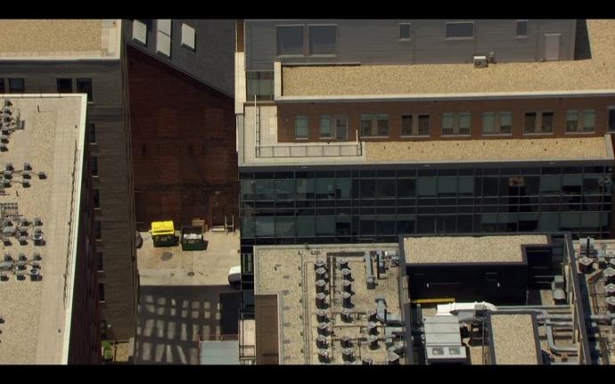 Baptist Alley Aerial America
