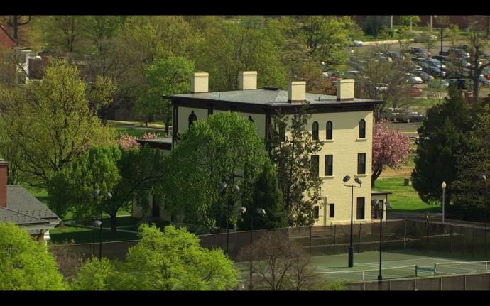 Grant Hall Aerial America