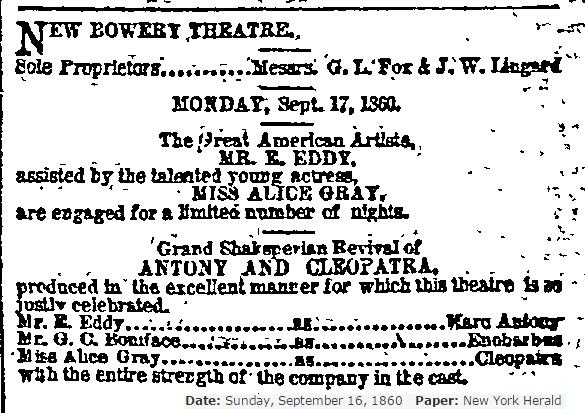 1860 With Eddy in NY Alice Gray