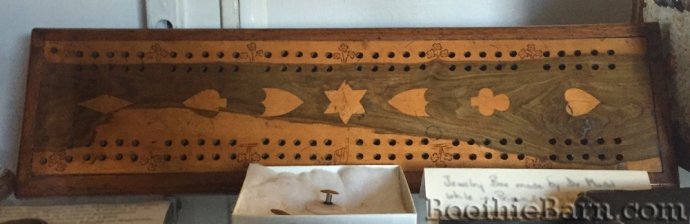 Dr Mudd's cribbage board